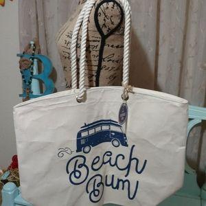 Beach Bum Reusable Tote